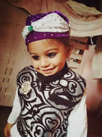 My nephew Child Childhood Portrait Girls Cute Warm Clothing Looking At Camera Halloween Toddler  Baby