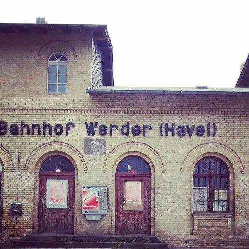 Werder Brandenburg Bahnhof