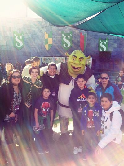With Shrek