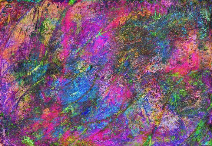 Abstract Abstract Backgrounds Art And Craft Backgrounds Close-up Creativity Flowing Full Frame Jasonpearce Modern Multi Colored No People Paint Pattern Pink Color Purple Red Talcum Powder Textured  Vibrant Color Water Watercolor Painting