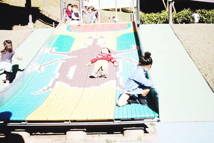 Playground Park Kids Sunny Japanese  Japan 公園 カブトムシ 子供 兄妹 EyeEm Best Shots EyeEm Nature Lover Talking Photos EyeEmNewHere