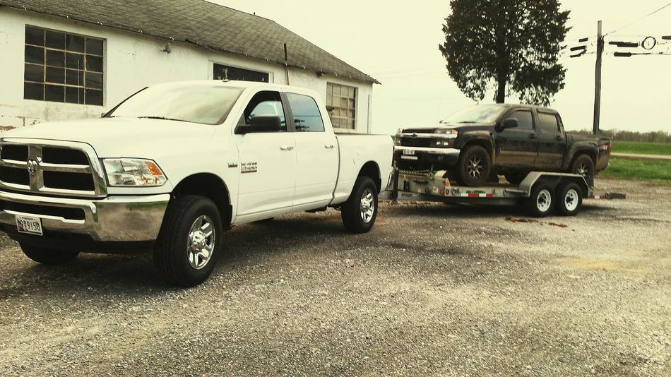 New truck! Dodge 2500 Chevy Light Bar Truck Towing Offroading