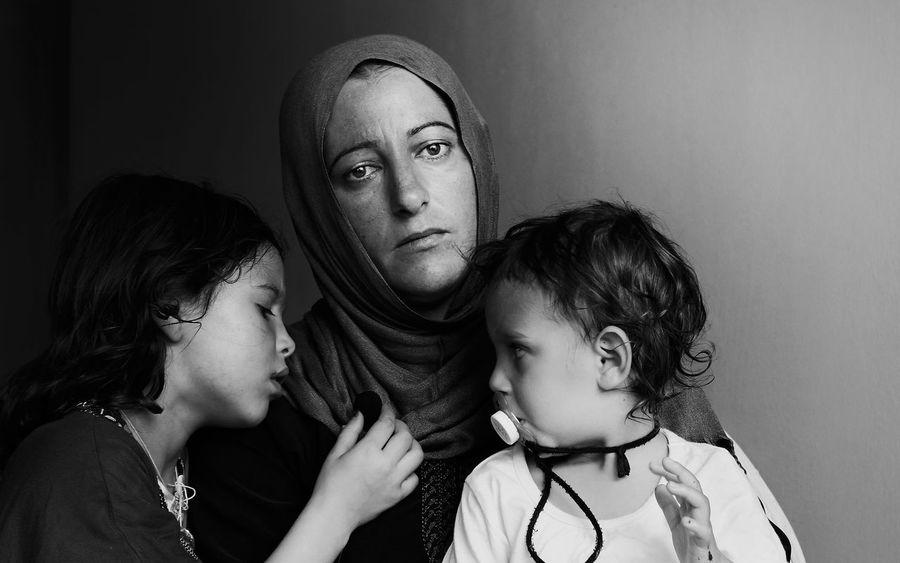 Syrian refugees - Tangier , Morocco The Week On Eyem Bnw_friday_eyeemchallenge Eyem Best Shots - Black + White The Street Photographer - 2015 EyeEm Awards Monochrome B&W Portrait The Portraitist - 2015 EyeEm Awards Peoplephotography Blackandwhite Eyem Best Shots