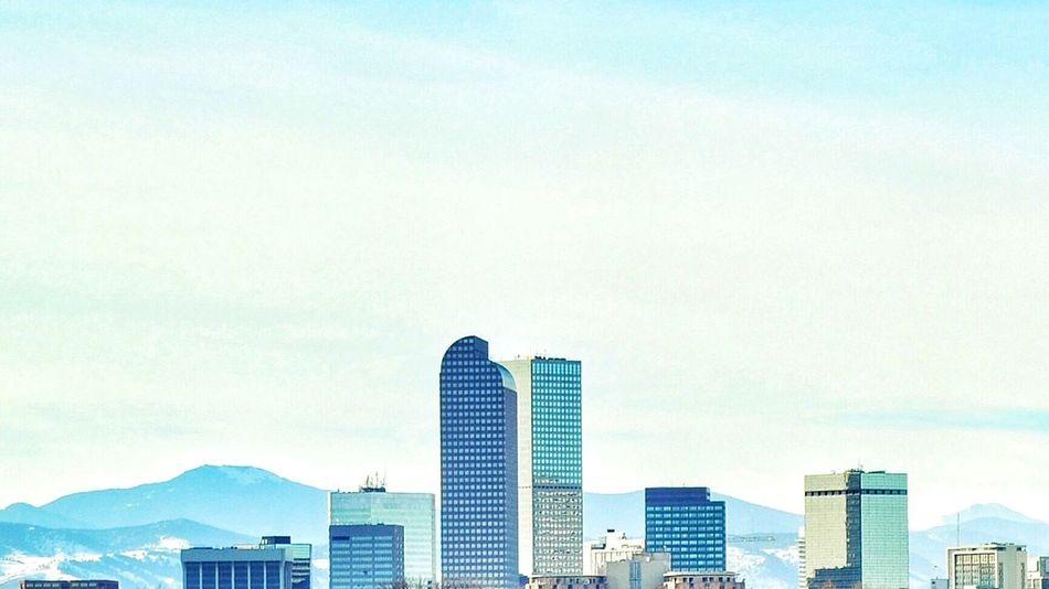 Denver Skyline City Park Skyline Showcase: December Colorado