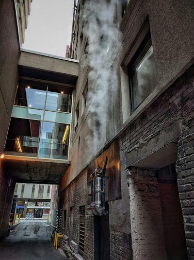 Alleyway Cold Morning Onmywaytowork Ottawa