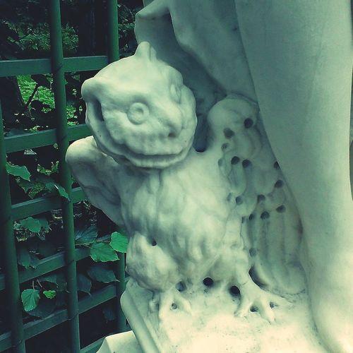 Owl Statue LOL