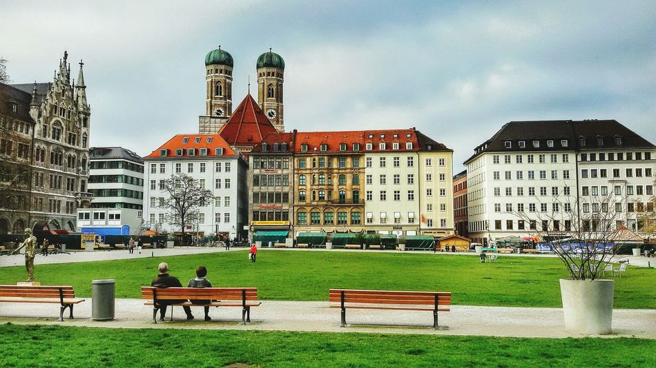 München Munich Germany First Eyeem Photo Streetphotography Street Photography Architecture Cityscapes EyeEm Eye4photography  Eyem Gallery EyeEmBestPics EyeEm Best Shots Eyem Best Shots Eyemphotography Sky Clouds Clouds And Sky Colors Check This Out Taking Photos