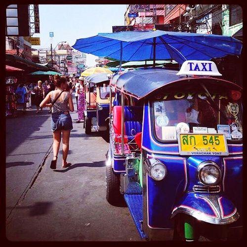 Let's go... Tuk Tuk Khao San Road ASIA