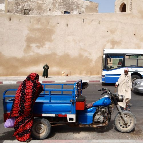 People Essaouira Morocco Colors #walll