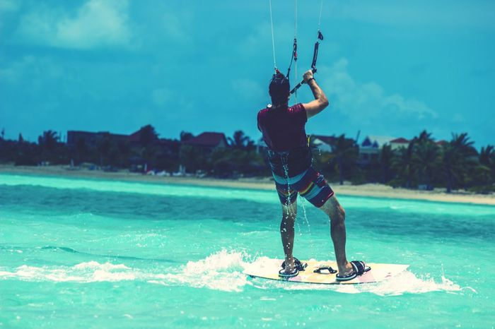 What's On The Roll What's On The Roll Kitesurfing Sea And Sky Jumping Outdoors Photograpghy  Rickeherbertphotography Turks And Caicos Motion Colours Of Life Colour Of Life Color Palette The Great Outdoors - 2017 EyeEm Awards