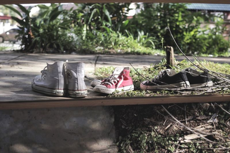 EyeEm Selects Converse All Stars Mirror Shoe