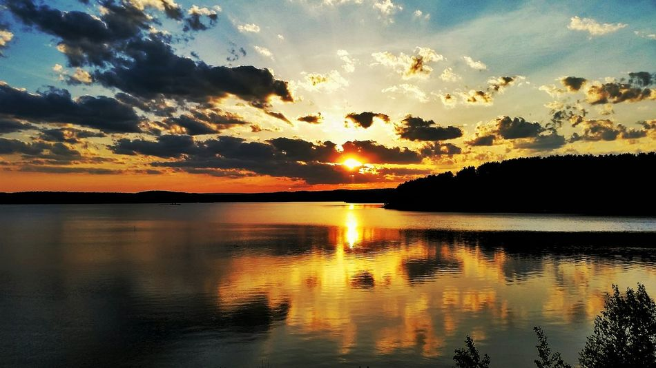 At the dam 🌅 Massachusetts New England  Sunset Vscocam GalaxyS5 Photooftheday Photography EyeEm Best Shots Skyporn Sky_collection