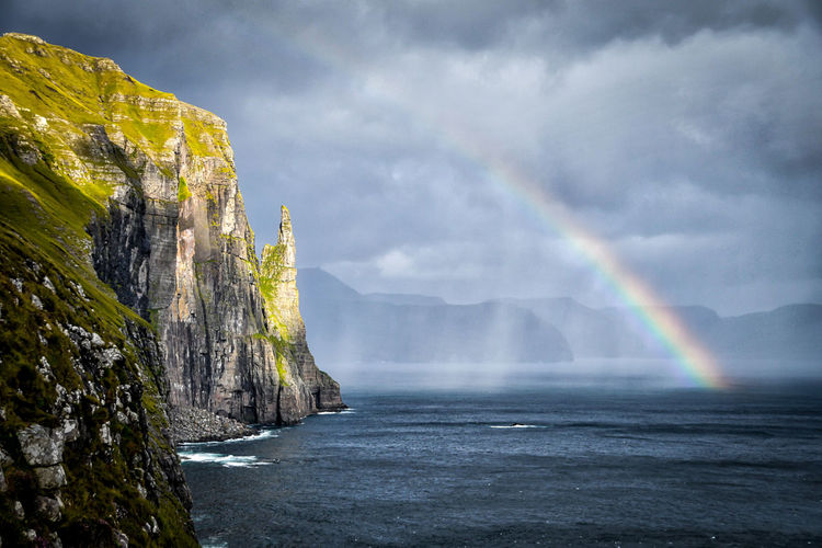 Nature Puffin Faroe Islands Landscape Landscape_photography Rainbow Water Wonderland