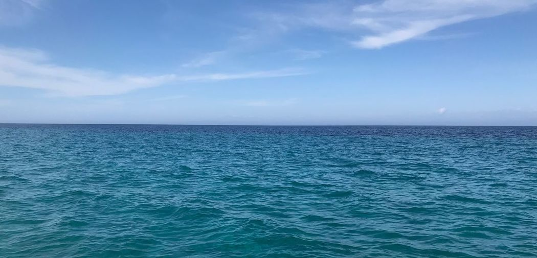 Sea Sky Scenics - Nature Water Horizon Horizon Over Water Beauty In Nature Tranquil Scene Tranquility Blue