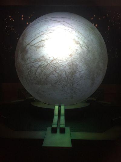 Close-up of illuminated electric lamp