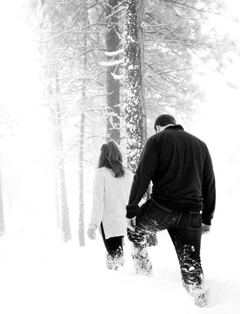 Real People Adults Only Corporate Business Business Finance And Industry Outdoors People Exploring Miles Away Backcountry Mountain Winter Cold Temperature Engagement Session Amazing_captures Winter Wonderland Portrait Portraiture Day Love Couple Couple - Relationship Hiking Snow Exploration The Secret Spaces Shades Of Winter Press For Progress