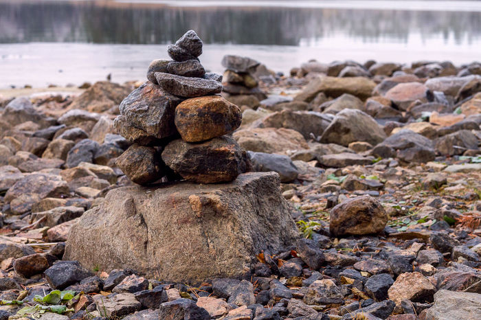 Beach Beauty In Nature Day Nature No People Outdoors Rock - Object Stack Stone - Object Tranquil Scene Water Zen-like