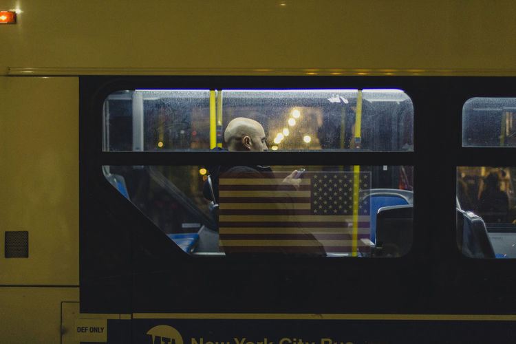 Commuting Day Indoors  Mode Of Transport One Person People person Public Transportation Rail Transportation Real People Train - Vehicle Transportation Vehicle Seat Yellow