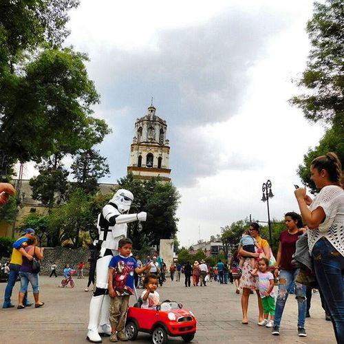 Los stormtroopers nos invaden Starwars Nikon CoolpixL840 Paisajedfeño Sens_df Mextagram Mexigers Igcdmx Igerscdmx Coyoacán