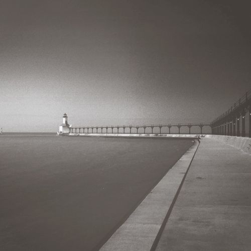 Lighthouse Enjoying The Sun Photooftheday Blackandwhite