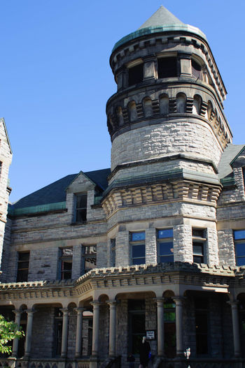 Mansfield Reformatory, Mansfield Ohio. Building Creepy Historic History Mansfield Menacing Prison Shaw Shawshank Spirit The Past Tourism Tragic  Travel Destinations