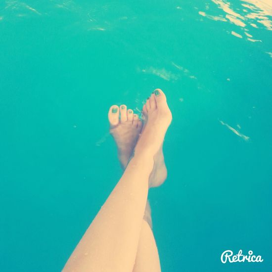 Nägel Lackieren Wasser Nagel #design Schwimmen