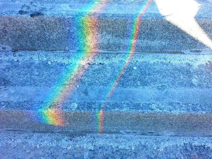 Prism Rainbow Steps Halifax Winter My City Office Steps Pretty