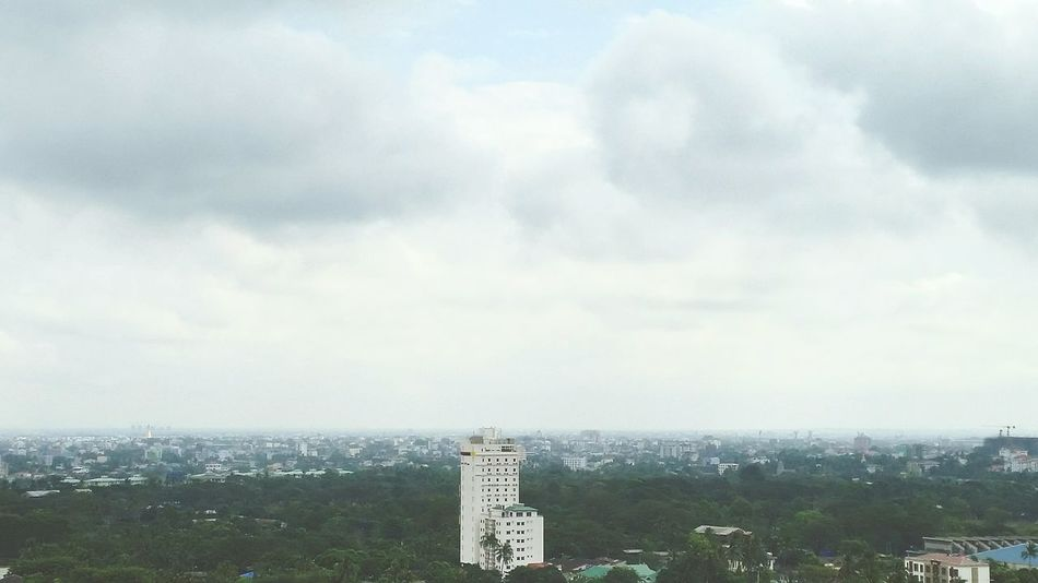 Hello World Yangon, Myanmar View Cold Days Rainy Days
