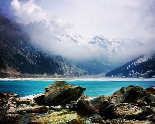 My Country In A Photo Kazakhstan Almaty Big Almaty Lake