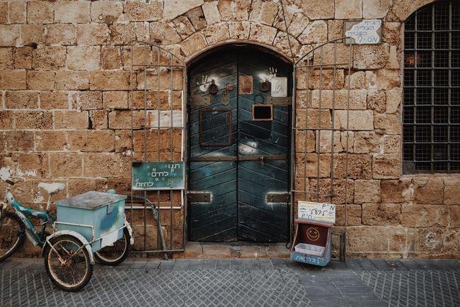 Jaffa Oldjaffa Israel Telaviv Wall Door Showcase: January