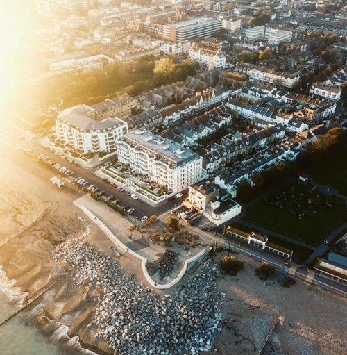 Drone shots of Worthing seaside Drone  Dronephotography Drone Photography Droneshot DJI Mavic Pro Dji DJI X Eyeem Pilot Sky Fly Architecture Building Exterior Built Structure City High Angle View Transportation Cityscape Road Building Street Nature Day No People Aerial View Outdoors City Life Residential District Modern Office Building Exterior Skyscraper