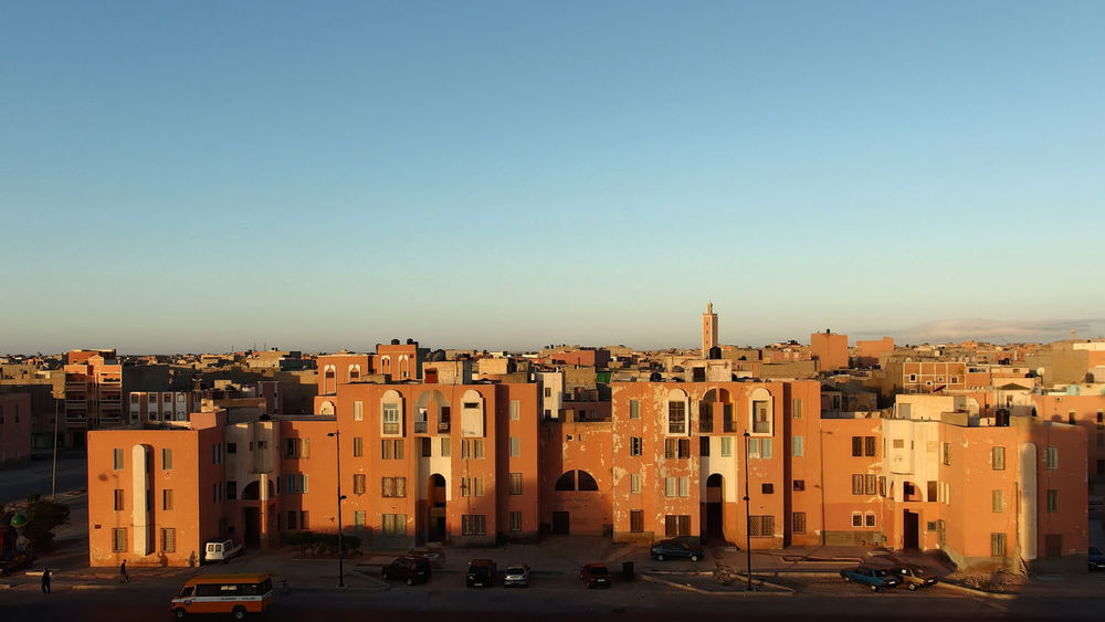 Architecture City Cityscape Day Laayoune No People Outdoors Residential Building Tourism Travel Travel Destinations