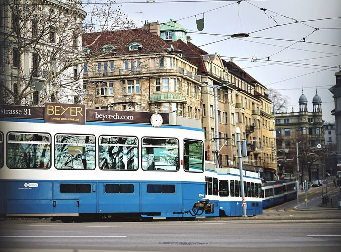 Tram on the