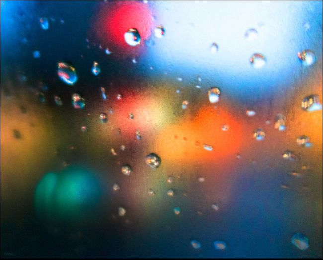 Water Drops #81 Abstract Driving In A Cab First Light Glass Having Fun Killing Time Macro Collection Rain Selective Focus Water Drop Wet