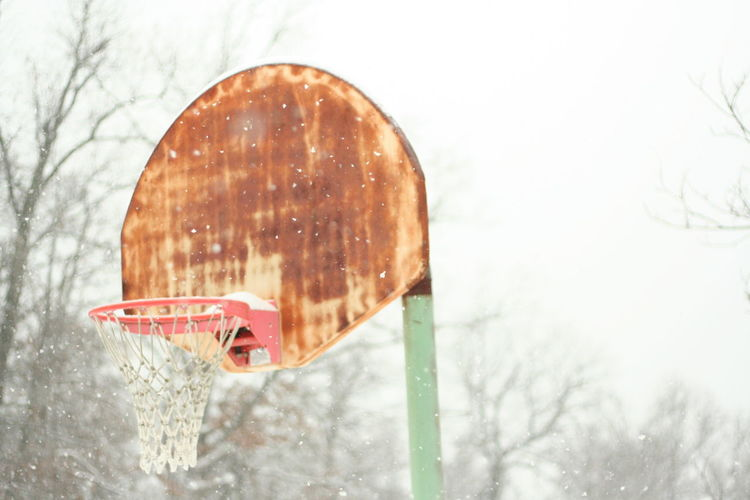 The Week On EyeEm Winter Snow Cold Temperature Happiness Childhood Nature Freshness Snowing Sky No People Outdoors Outside Basketball Basketball Is Life No Excuses Visual Inspiration Go For Your Dreams