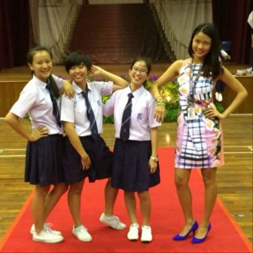 "We look fabulous😍😍🙆🙆(ignore my post😂😂) except for the ""innocent"" Notinnocent Shina there who just smile😏😏 Tb Ytd Speechday Fun Laughter Camwhore Formteacher Shortmodels"