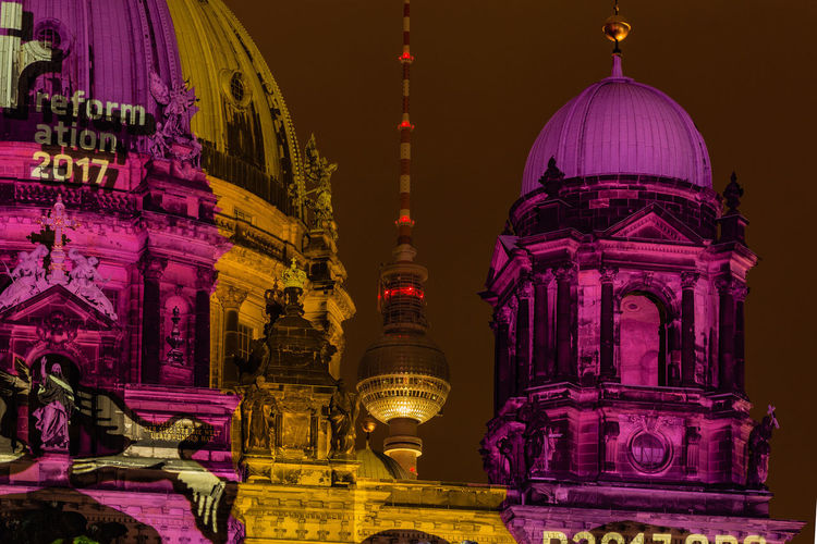 Architecture Built Structure Capture The Moment Cultures Famous Place Festival Of Lights 2015 I Love My City My Fuckin Berlin Nightphotography OpenEdit Tourism Travel Destinations Battle Of The Cities