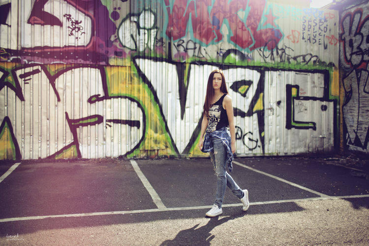 Art Casual Clothing Day Full Length Graffiti Leisure Activity Lifestyles Outdoors