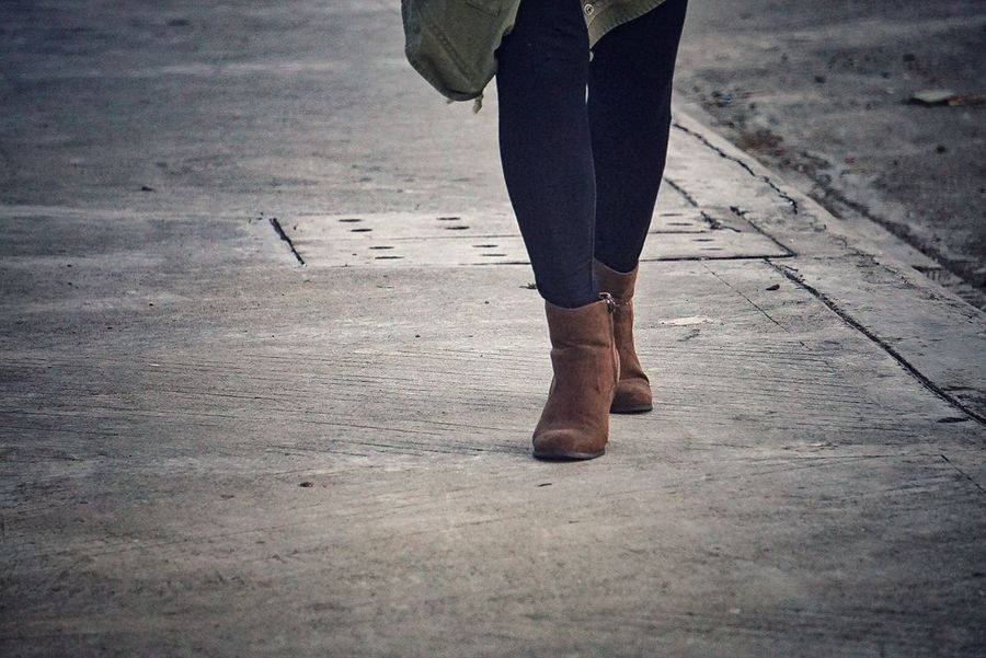 Boots Eyeem Philippines Brown Boots Low Section Standing Human Leg Women Walking Limb Leg Human Foot Shoe Footwear Foot Sock Feet Personal Perspective Toenail Pair Things That Go Together