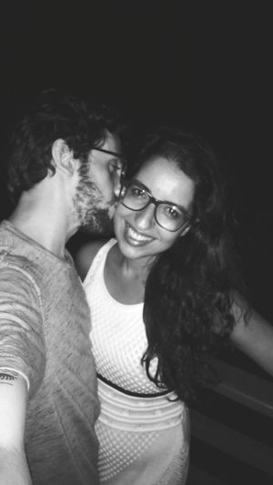 EyeEm Selects Love Yourself Two People Portrait Happiness Adult Love Real People Night People Women Eyeglasses  Adults Only Looking At Camera Friendship Press For Progress