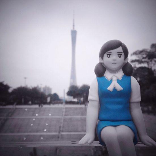Fuchiko フチ子 Cup Dolls Comics Lovers Canton Tower Guangzhou Huacheng Square