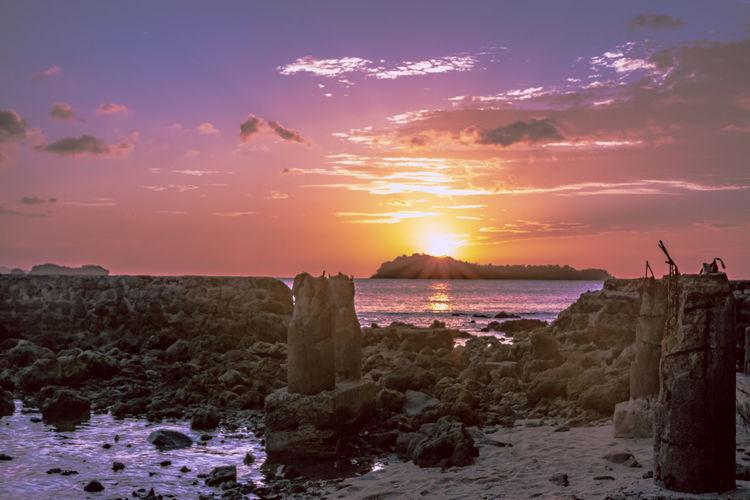 Sea Sun Sunset