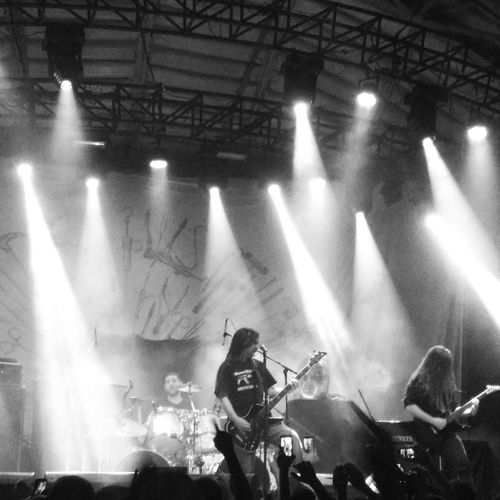 Carcass Live at circo voador - Rio de Janeiro/Brazil 06/24/2017 Carcass Carcassband Blackandwhite Deathmetal Metalhead Metal Headbangers