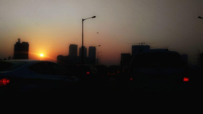 Dusk Car City Sunset Road Urban Skyline Outdoors Sky Twilight Sky