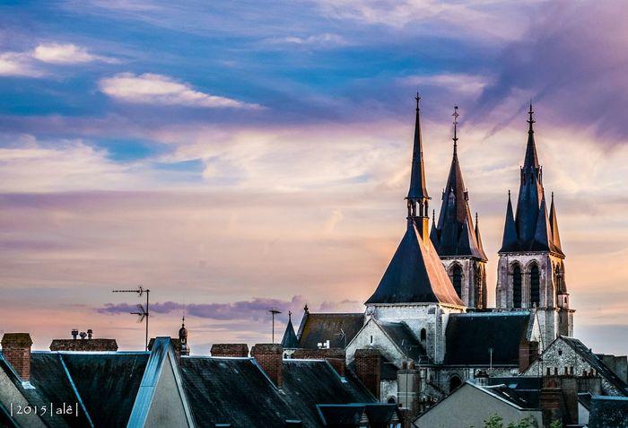 Sur les toits de Blois Blois Chateau De Blois Toit