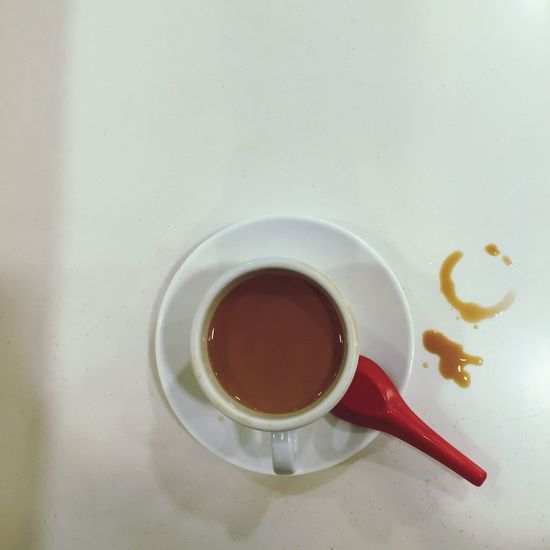 Lol :) Tea Time Tea Smile Tea Break Tea Is Healthy Relaxing saw a smiley face formed with the bottom of the tea cup and snapped a shot!