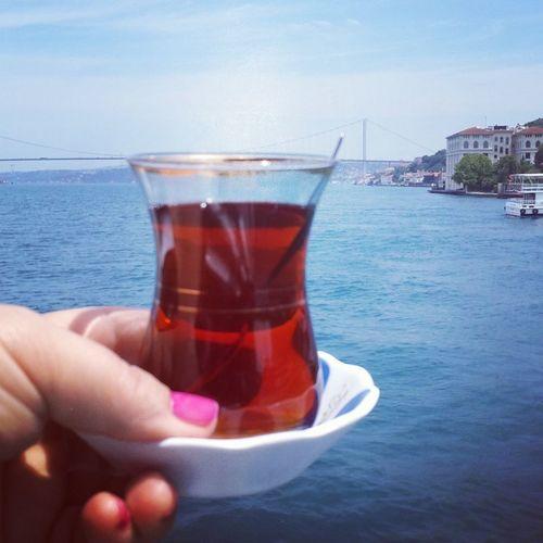Istanbull+çay=aşkkkķ Istanbullife Istanbulbogazi Istanbul #turkiye Deniz Tekne Huzur Istanbul City Denizhavası