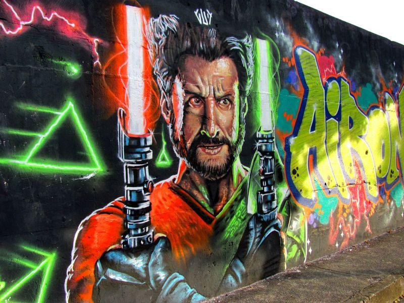 Graffiti Art Urban Art And Craft City Gud - Av Tereza Cristina BH
