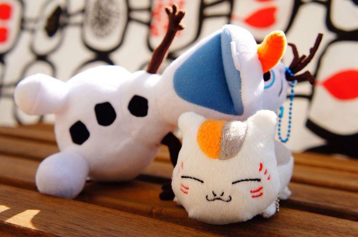 オラフも!って、実はバルコニーで ぬいぐるみを陽に干してるんです笑 Japan Stuffed Toy Toy