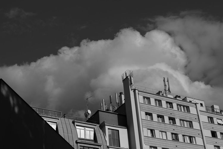 Architecture Building Exterior Built Structure City Cloud - Sky Day Factory Low Angle View Nature No People Outdoors Sky Smoke - Physical Structure